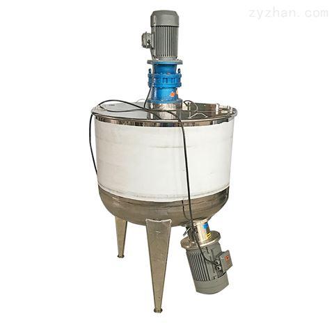 1000L不锈钢导热油电加热搅拌罐