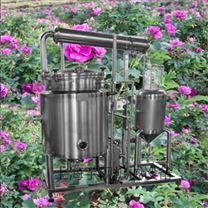 中小型芳香植物精油提取机组