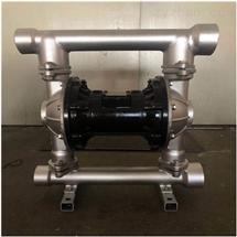 QBY3-125PF氣動不銹鋼四氟隔膜泵