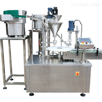 0.2克粉剂灌装机 西林瓶灌装轧盖机