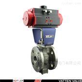 VT2IEF33A浆料气动切断阀,V型偏心半球气动球阀