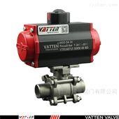 VT2CDB33APN160高压焊接双相钢渗滤液气动球阀
