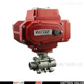 VT2CDB33A电动高压焊接不锈钢三片式球阀