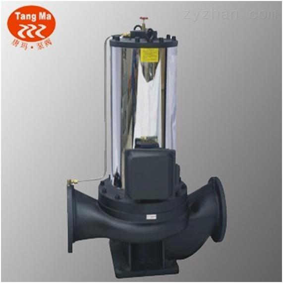 上海立式管道屏蔽泵