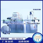 消毒水灌裝生產線 六頭直線灌裝機