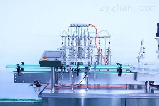 不锈钢膏体灌装旋盖机