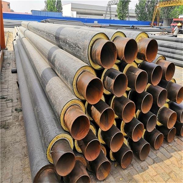 管径426聚氨酯热水直埋螺旋保温钢管