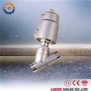 进口全不锈钢气动角座阀的选型依据德国洛克
