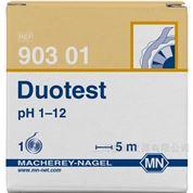 Duotest pH 1-12 双色pH试纸