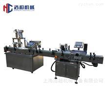 HCGX-5/50型上海浩超機械灌裝全自動西林瓶灌裝旋軋蓋機