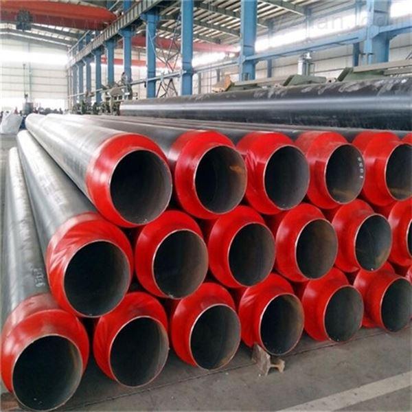273聚氨酯预制直埋式防腐蒸汽保温管道