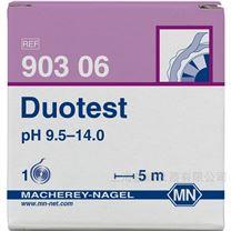 Duotest pH 9.5-14.0 双色pH试纸
