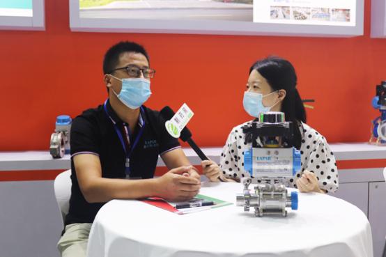 藍帕閥門周新:憑借技術實力與完善的服務體系,助推中國制藥行業發展