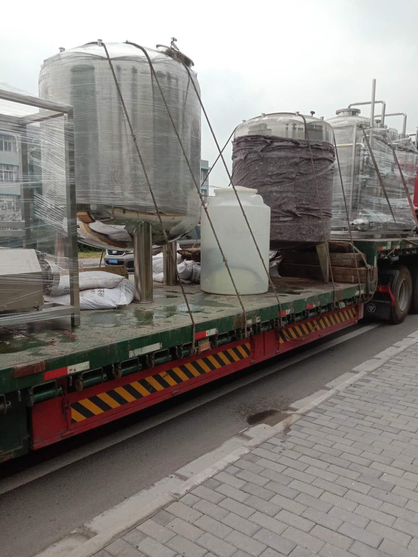 4T純化水設備正在上貨,發往重慶??!