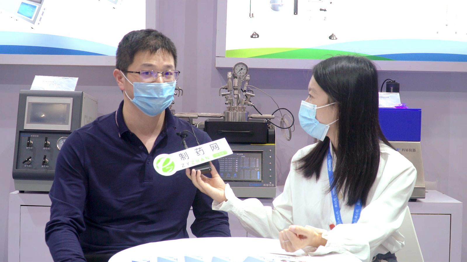 专访安徽科幂机械科技有限公司李俊涛