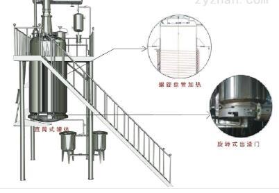 LTQ螺旋管加热提取罐