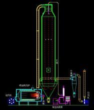 压力喷雾干干燥机原理图